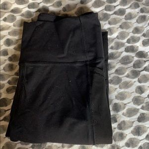 Thick running pants